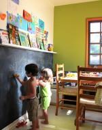 DIY Chalkboard Wall