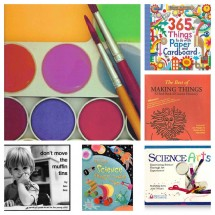 On Our Bookshelf: Art & Activity Books for Kids