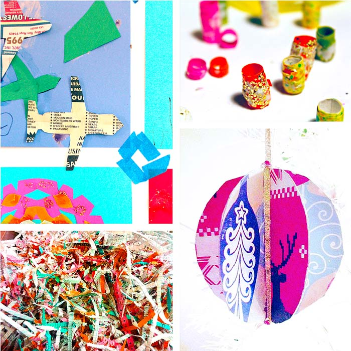 10 creative ideas for recycling gift wrap babble dabble do for Creative ways to recycle