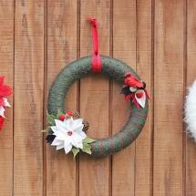 Winter Wreaths: A Medley of Online DIY Tutorials