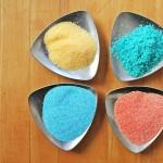 DIY Art Materials: Colored Salt