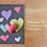 Chalkboard Paper Valentines