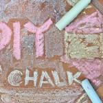 DIY Art Material: Chalk