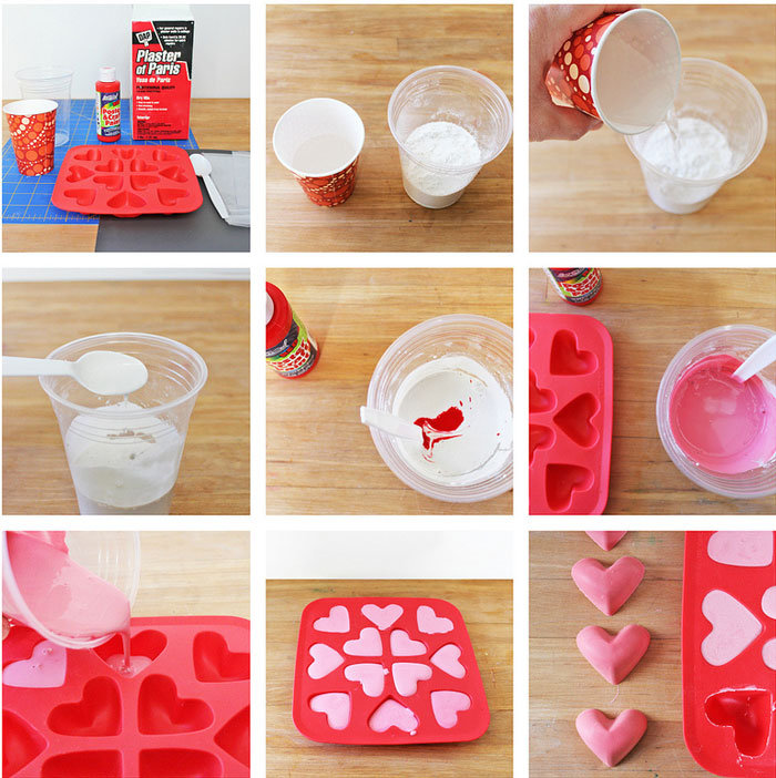 Easy art material to make: DIY Chalk using Plaster of Paris