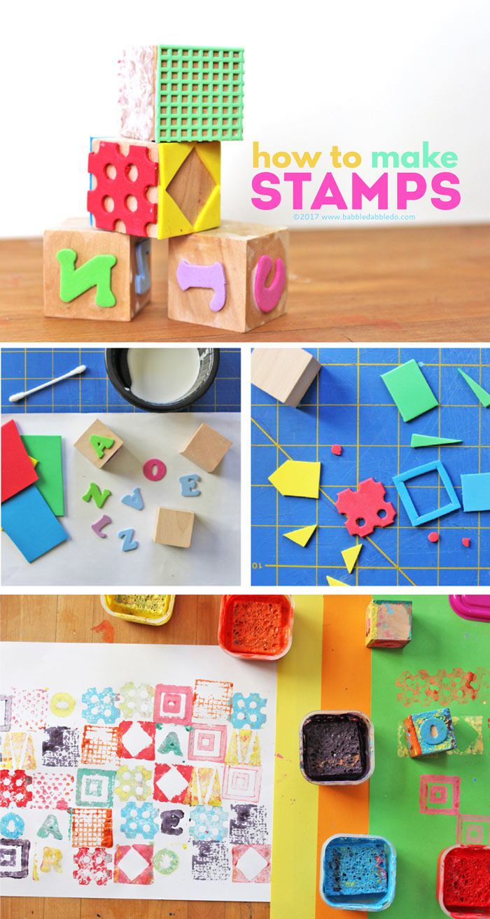 stamp craft ideas how to make a stamp babble dabble do 2996