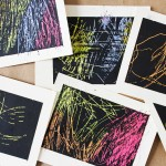 DIY Art Material: Scratchboard Cards