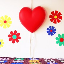 Flower Power DIY Wall Decals