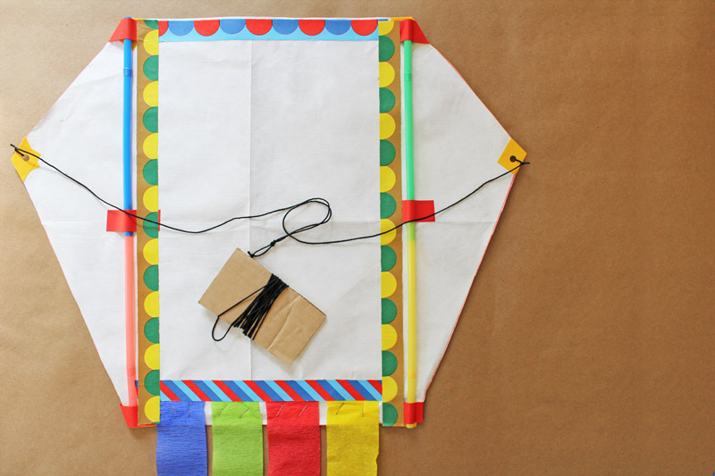 How to make a kite babble dabble do - How to make a kite ...