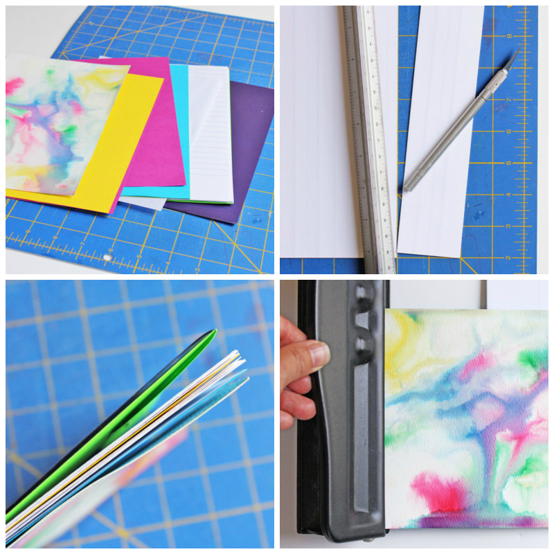 Design for Kids: Recycled Handmade Journals