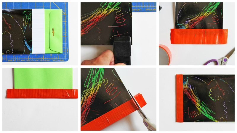 5 simple book binding methods for kid's art, journals & more!