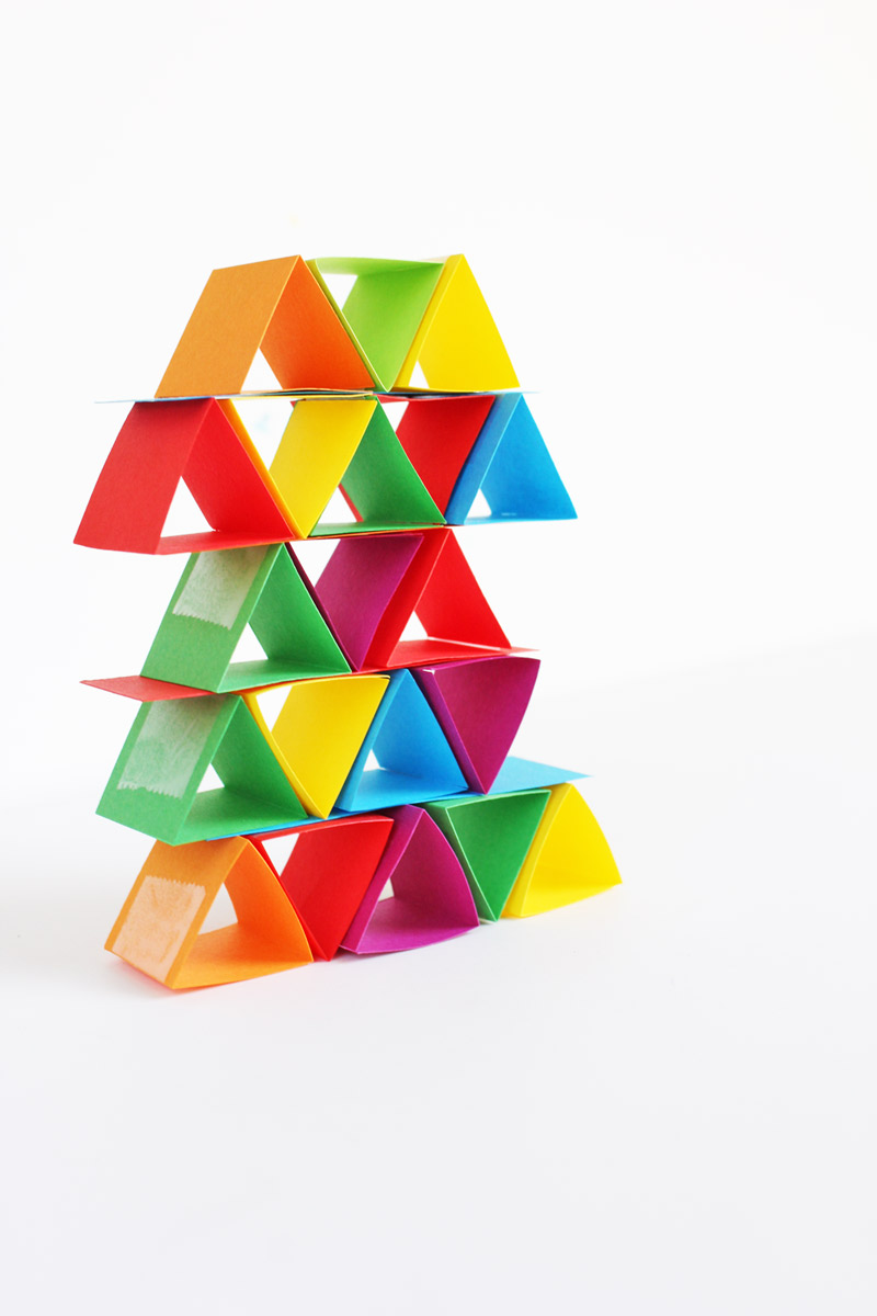 How To Make Building Blocks Out Of Paper