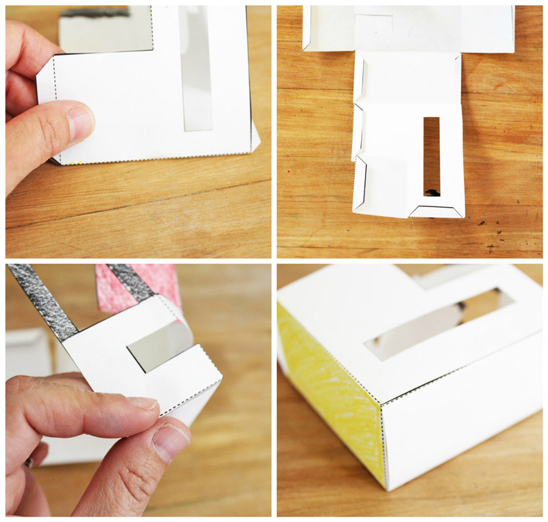 Fun Paper Craft For Kids: 3 Templates For PAPER HOUSES You Can Print, ...
