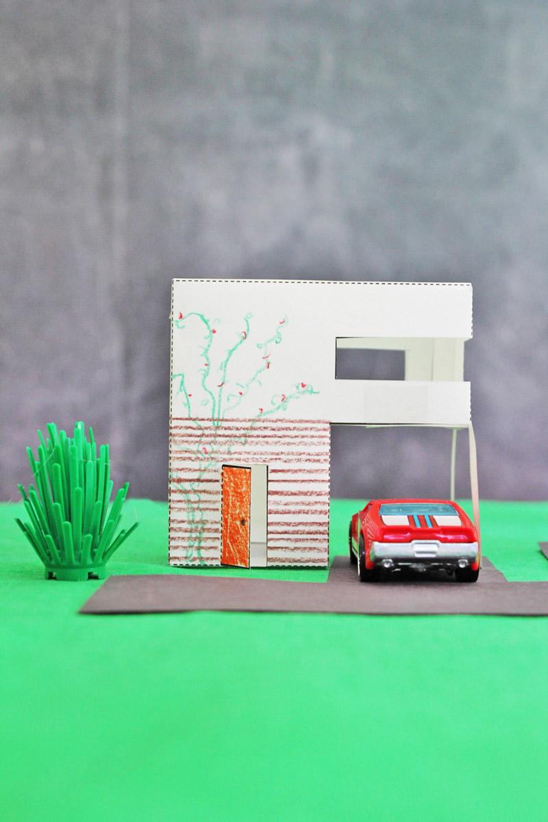 Design For Kids Paper Houses Babble Dabble Do