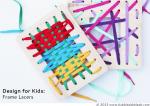 DIY Toys: Frame Lacers