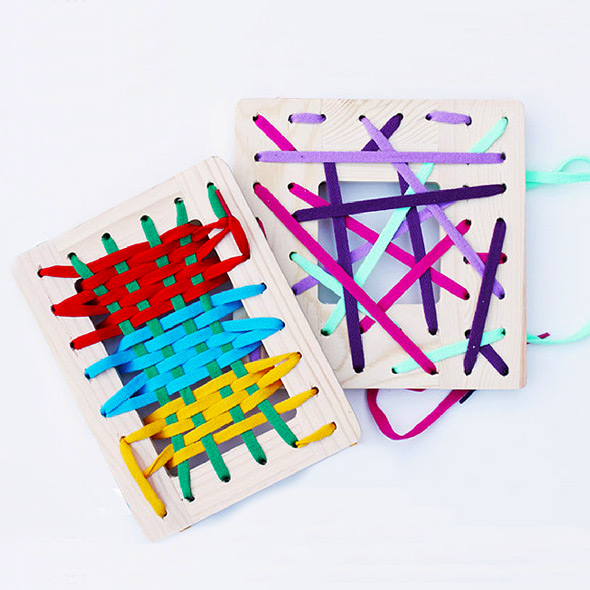 DIY toys you can make in 30 minutes for about $4 each. Perfect for a budding sewist and a simple fine motor activity for younger children.