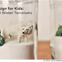 Mini Winter Terrariums
