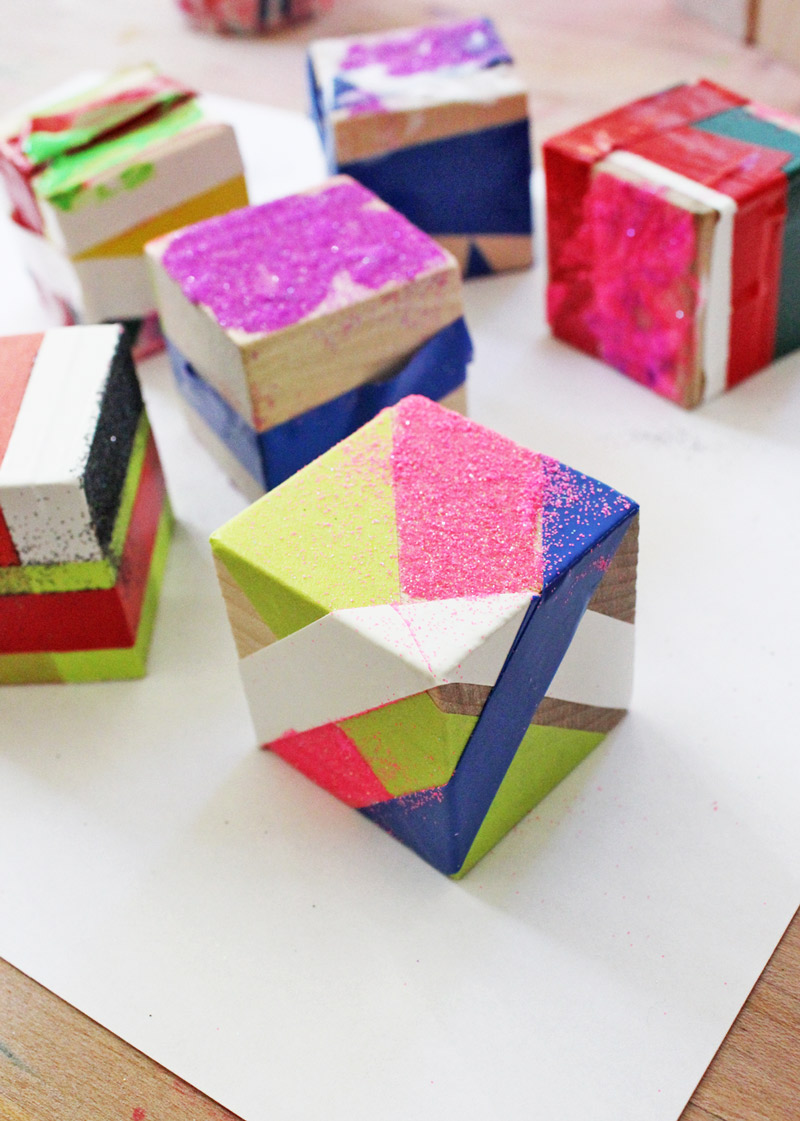 Christmas Blocks Decorations