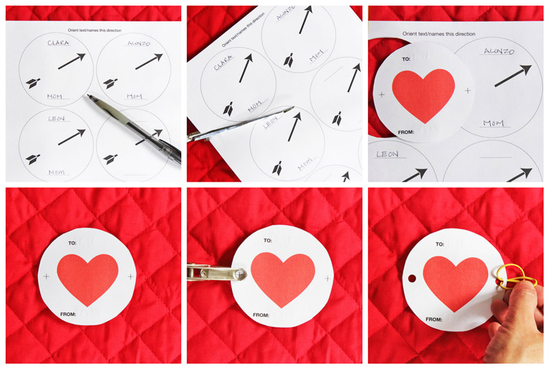 Optical Illusion Valentines: Printable valentines cards with a scientific twist!
