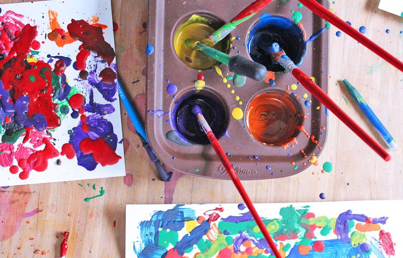 Kids Outdoor Painting Ideas