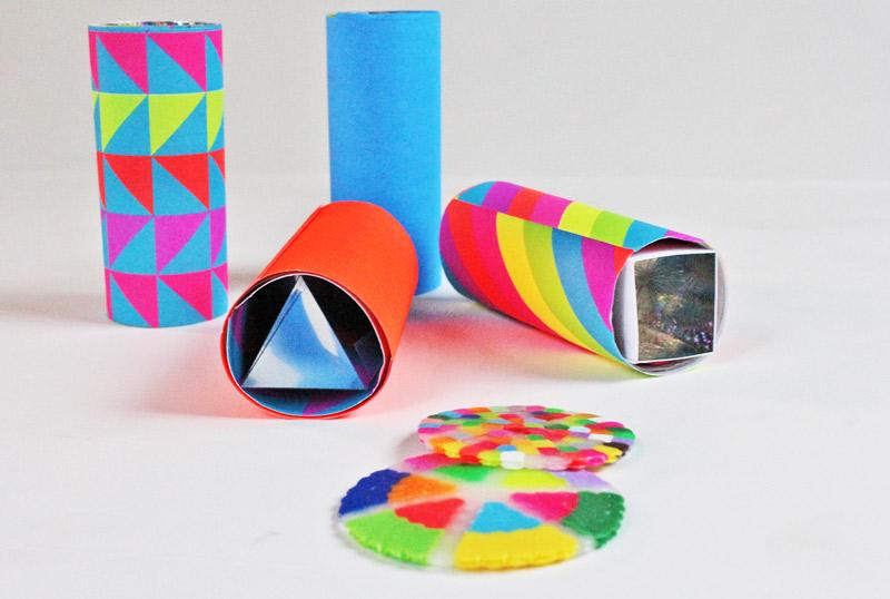 Mini Diy Kaleidoscopes Open Ended Babble Dabble Do