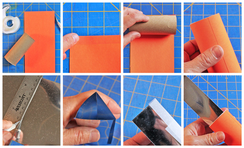 DIY Kaleidoscopes: Simple open ended kaleidoscopes to make at home.