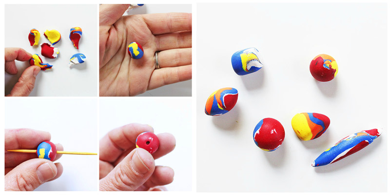 How To Make Polymer Clay Beads Babble Dabble Do