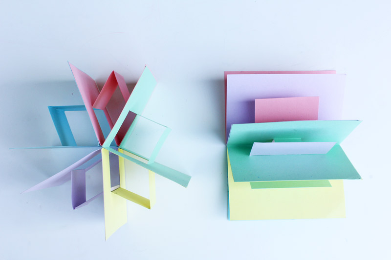 Book Art: 3D Pop Up Book - Babble Dabble Do