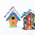 Art Projects for Kids: Clay Houses