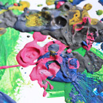 Easy Art for Kids: Crayon Painting