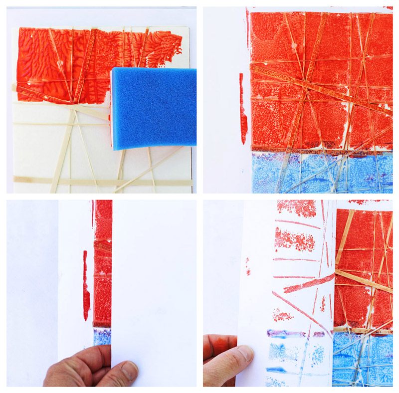 Rubber Stamp Art Projects Easy Art Projects for ...