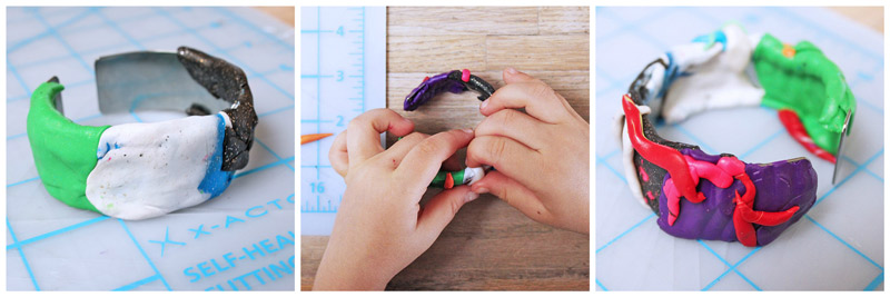 Polymer Clay Tutorial: Learn how to make polymer clay bracelets with these 6 easy methods.