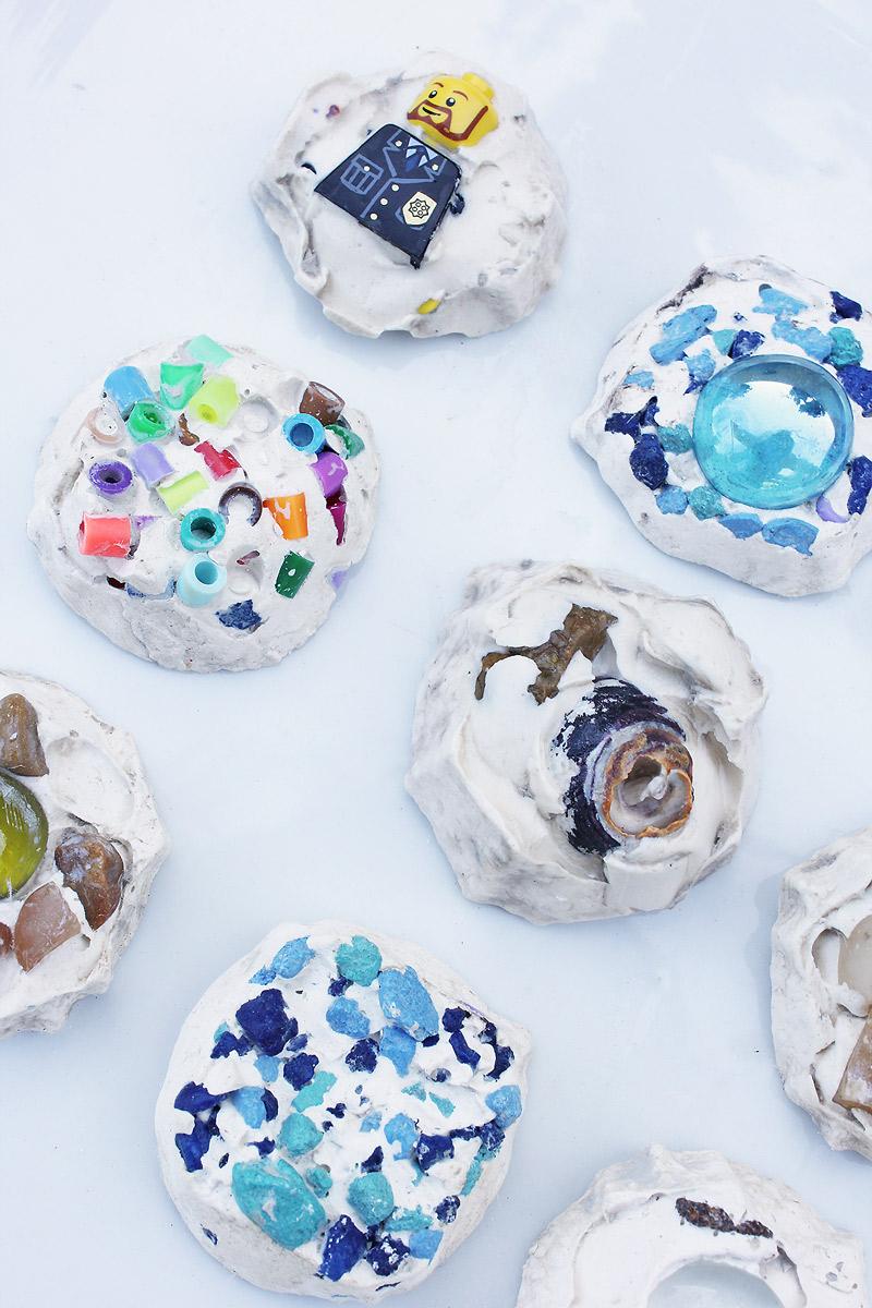 art for kids: mosaic treasure tiles - babble dabble do