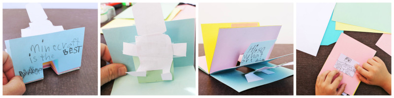 simple pop up book
