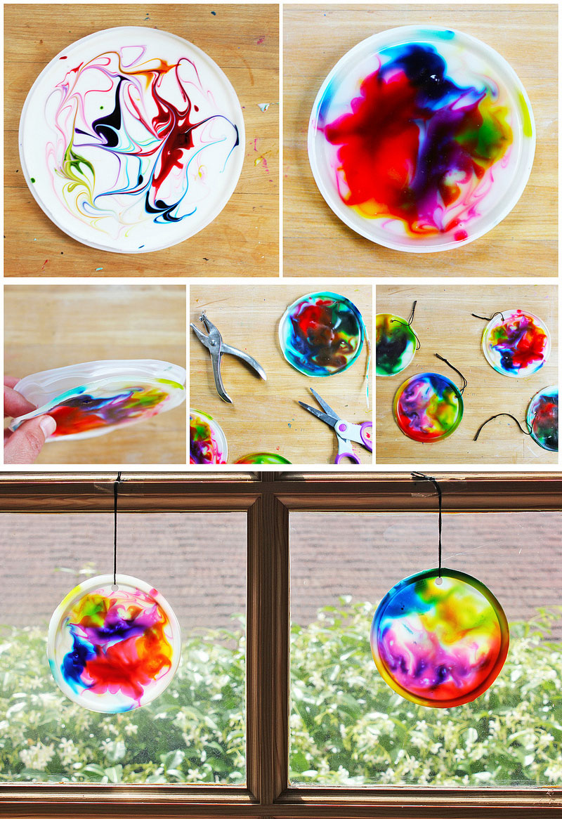Suncatcher craft for kids