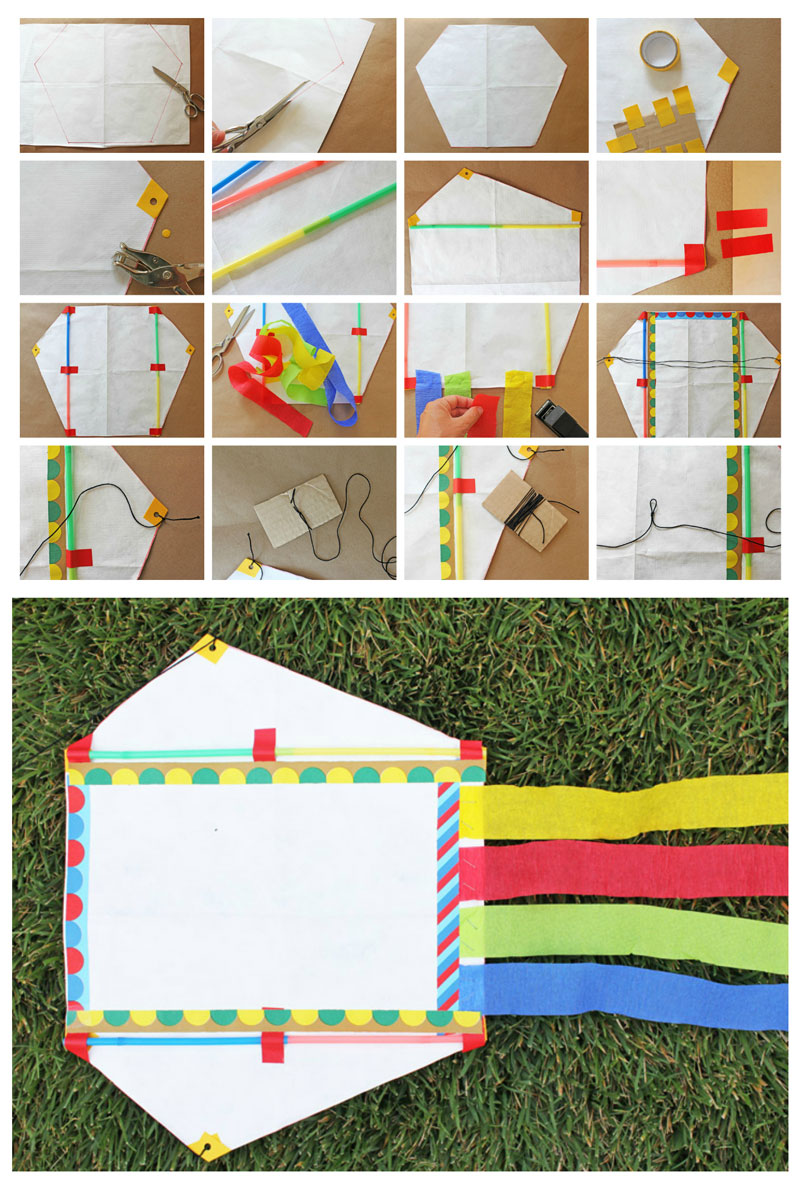 how to make a kite instructions