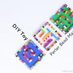 DIY Toy: Perler Bead Mazes