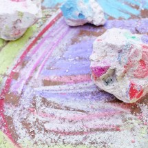 Art for Kids: <br/>Chalk Rocks