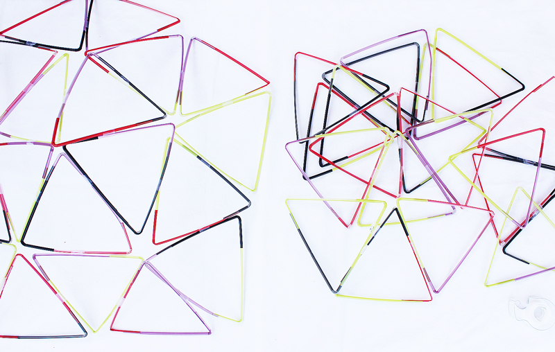 Drinking Straw Structures- Easy Dome