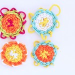 Art for Kids: Basic Weaving Using Recycled Plastic Looms