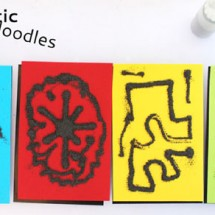 Art Ideas for Kids: Magnetic Doodles