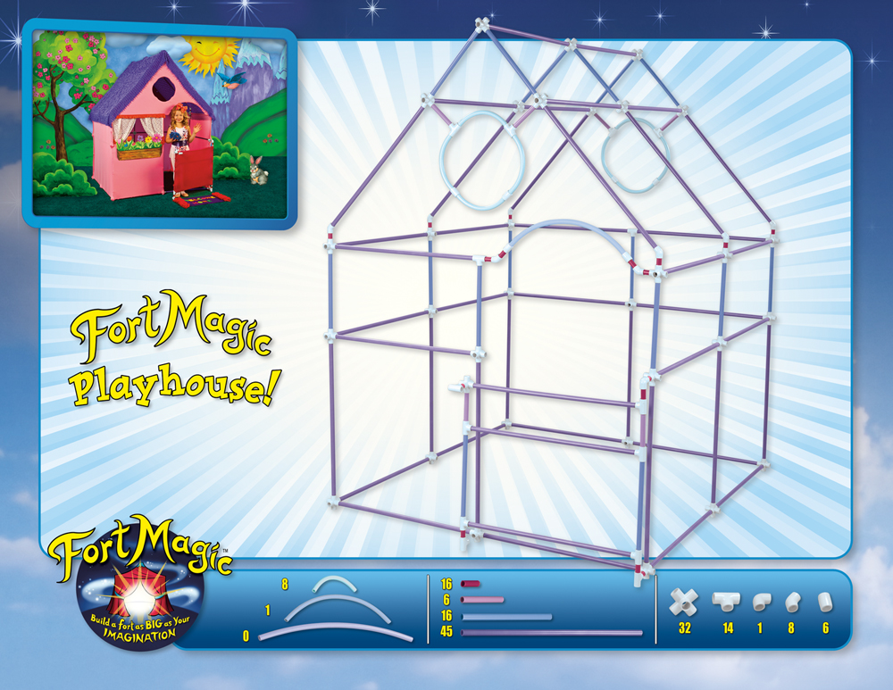 If you are pumped to purchase a kit of your own, buy a Fort Magic Kit ...