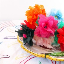 How to Make Paper Flowers (pssst….in 5-minutes!)