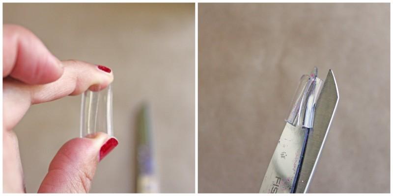 Totally Tubular Glitter Bracelet Steps Collage Plug- REV