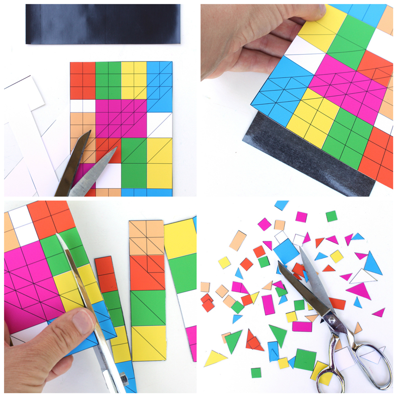mosaic templates for kids - art ideas for kids diy mosaic magnets babble dabble do