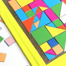 Art Ideas for Kids: DIY Mosaic Magnets
