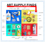Thumbnail image for Art Supply Finds: 30+ Art Supplies From the Hardware Store (and cool stuff to make with 'em)