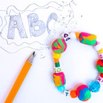 Thumbnail image for Back to School Craft: Eraser Bead Bracelets