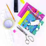 Thumbnail image for Book Art: Recycled Art Journals + the Easiest Bookbinding