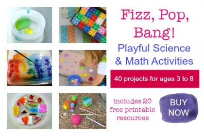 Fizz. Pop. Bang! Playful Science and Math Activities E-book