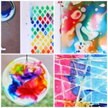 12 Easy Art Ideas for Kids